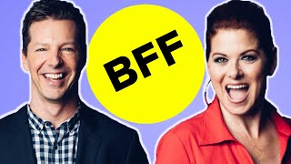 Sean Hayes & Debra Messing Take The BFF Test