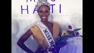 VIDEO: Miss Haiti 2014 - Carolyn Desert