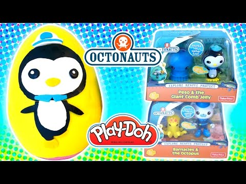 Octonauts Peso Play Doh Surprise Egg & Color Changing Bath Toys