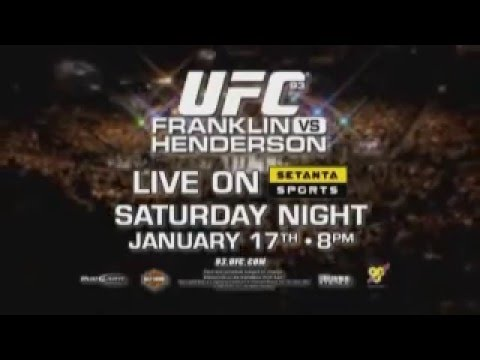 UFC 93: Franklin Vs. Henderson
