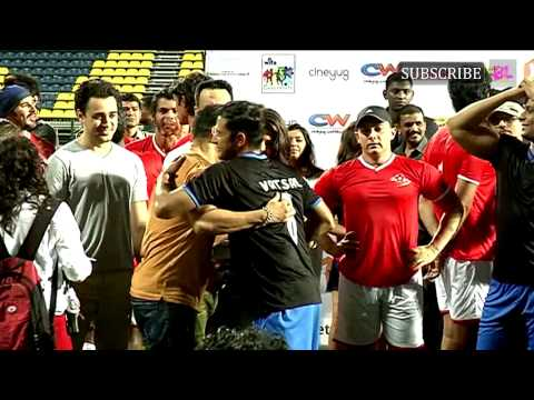 Charity Football Match With Aamir Khan and Salman Khan Part 3