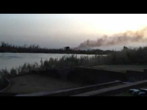 Big River CA wildfire 3/24/12