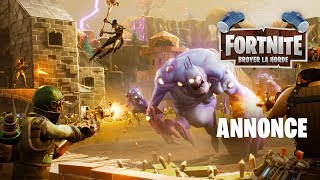 Fortnite - Annonce de la mise à jour Broyer la Horde
