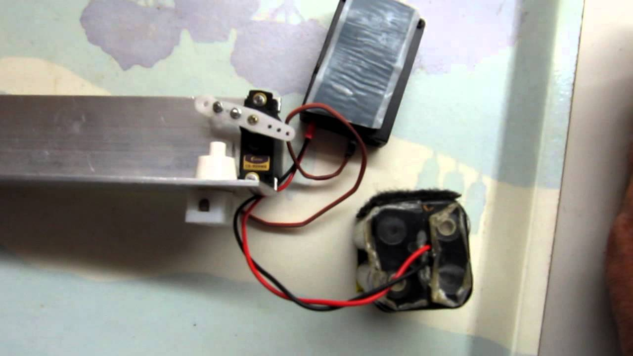 Trucs Et Astuces Mod 233 Lisme Rc Un Servo Interrupteur