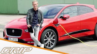 Konkurrenz für das Tesla Model X? | Jaguar I-Pace | GRIP