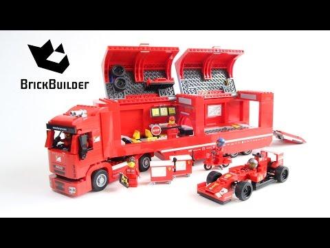 Lego Speed Champions 75913 F14 T & Scuderia Ferrari Truck - Lego Speed build