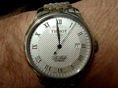 Tissot le Locle Silver Dial my Tissot le Locle Watch