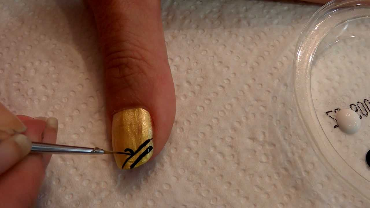 Tutorial u as decoradas nail art n 44 cinco tutoriales - Unas decoradas faciles ...