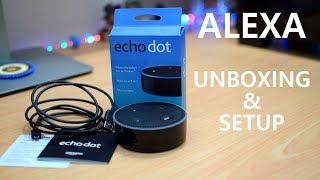 Amazon Echo Dot - Unboxing & Setup - India App