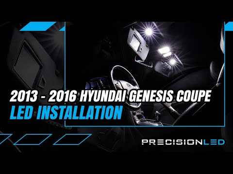 Hyundai Genesis Coupe LED Interior & Fogs How To Install - 2nd Gen | 2013-2016