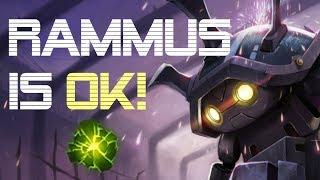 Rammus Jungle Season8 is OK - Climb to Plat ep.9 - League of Legends