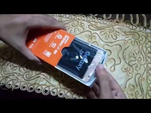فتح علبة هاتف Samsung  Galaxy J7 ونظره سريعه علي الهاتف