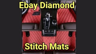 Ebay diamond cut waterproof mats review