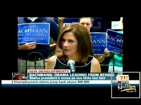 TEAM HILLARY CLINTON TO MICHELE BACHMANN -