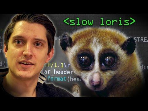 Slow Loris Attack - Computerphile