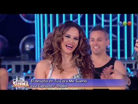 Devolución para Luz Cipriota, Thalia - Tu Cara Me Suena 2014