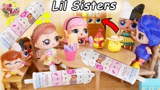 Fake LOL Surprise Dolls + Lil Sisters Confetti Pop Blind Bags