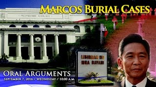 Oral Arguments on Former President Ferdinand E. Marcos Burial Case 2 - PM