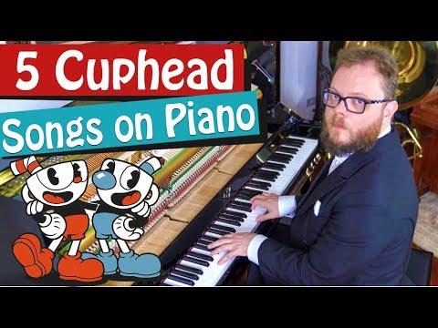 5 Cuphead Songs on Piano Vídeos de zueiras e brincadeiras: zuera, video clips, brincadeiras, pegadinhas, lançamentos, vídeos, sustos