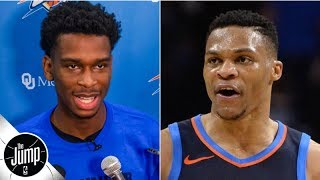 Shai Gilgeous-Alexander's comments on Russell Westbrook were smart - Royce Young | The Jump