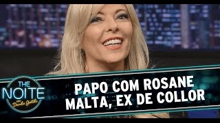 The Noite (15/12/14) - Entrevista com Rosane Malta, ex-mulher de Fernando Collor