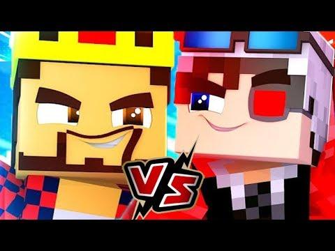 АИД VS ДЕМАСТЕР! КТО КРУЧЕ ИГРАЕТ В МИНИ ИГРЫ? Minecraft the lab