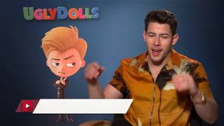 NickJonas talks about Ugly Dolls and the Jonas Brothers Reunion Tour