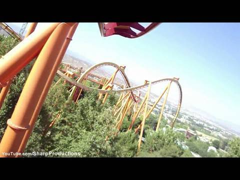 Tatsu Six Tatsu hd Pov Six Flags Magic
