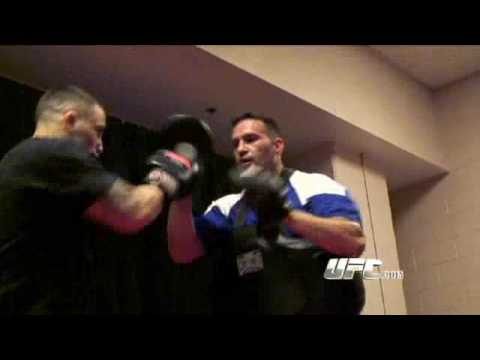 Frankie Edgar Hitting The Mits Like Rapid Fire - Preparing for UFC 98