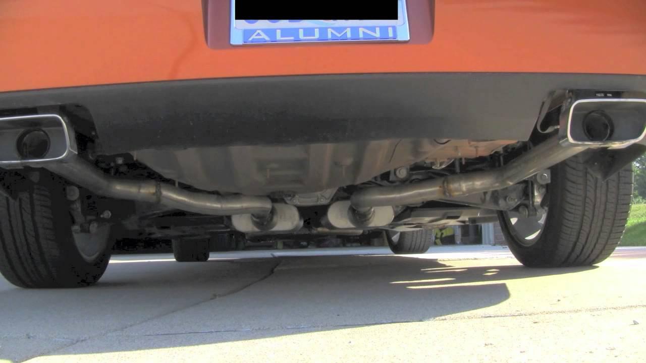 2011 Dodge Challenger Se 3 6l V6 Exhaust Youtube