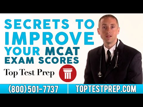 Secrets to Improving Your MCAT Exam Scores | TopTestPrep.com