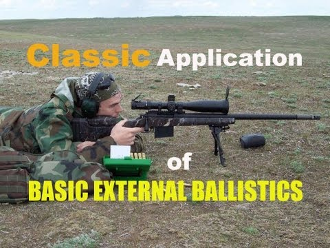 SNIPER 101 Part 27 - Classic Application of Ballistics - Rex Reveiws