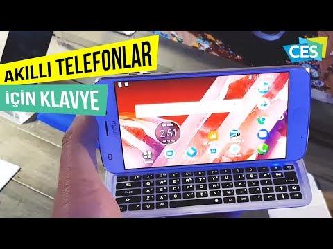 Motorola'dan akıllı telefonları için klavye