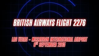 British Airways 2276: Las Vegas Fire Visualisation