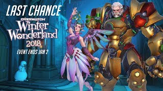 Overwatch Seasonal Event | Overwatch Winter Wonderland 2018 | LAST CHANCE
