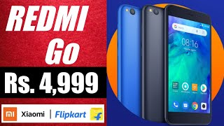 Redmi Go Price & Launch date in India| Review of specs|Sabse sasta android smartphone.