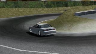 rFactor S14 Crash Test