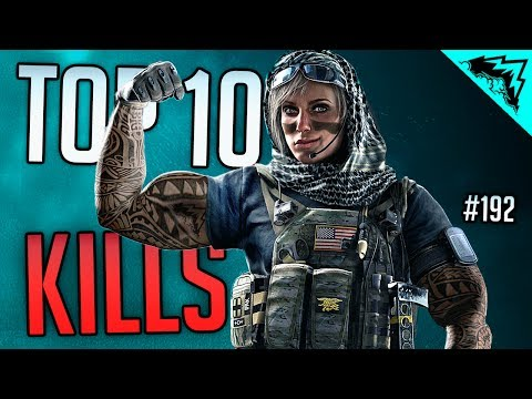 ROUND 12 DOUBLE OVERTIME - Rainbow Six Siege TOP 10 Plays of the Week - WBCW #192 StoneMountain64
