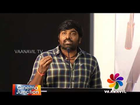 "CINEMA JUNCTION - ""96"" - MOVIE  PRESS MEET -  VIJAYA SETHUPATHI ACTOR - 01-10-2018"