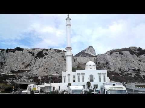 Europa Point Gibraltar - mosque muezzin calling for prayer