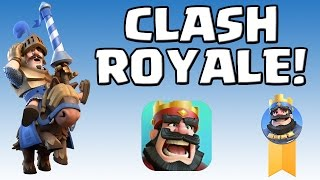 CLASH ROYALE || GAMEPLAY || das neue Spiel von Super Cell! [Deutsch/German HD+]
