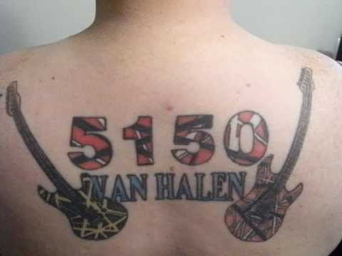 Van halen tattoo tattoos youtube for Tattoo van halen