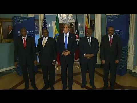 Secretary Kerry Delivers Remarks With IGAD Leaders on the Situation in South Sudan