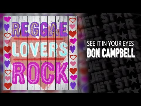 Don Campbell - See it in your eyes - 90' Reggae - (Official Audio)