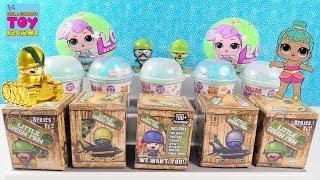 Huge Surprise Toy Fun Rare Gold Little Green Men Tank LOL Surprise & More Review