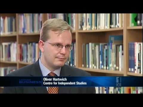 Euro crisis: Option for Greece, implications for Australia (ABC Lateline Business, 20 June 2011)