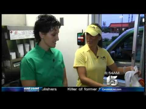 8-30-12 Amanda Kinseth Live at McDonalds on WPDE NewsChannel 15