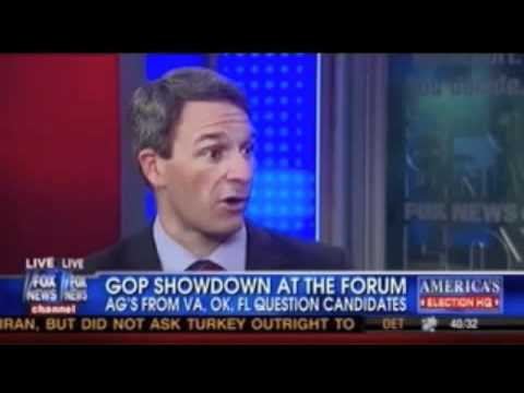 Cuccinelli: Newt not a limited gov't conservative & no distance between Romney and Obama