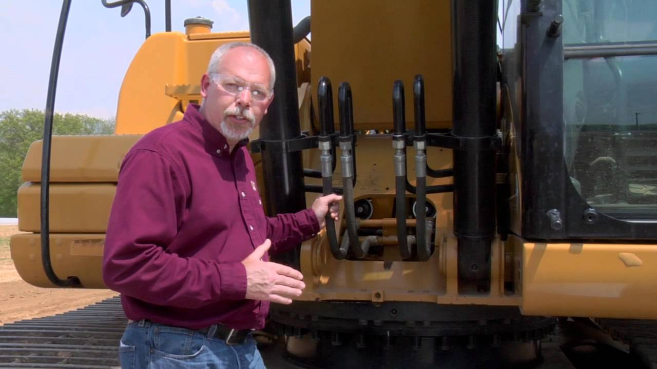 Cat 174 Excavator Swing Bearing Amp Swing Gear Maintenance