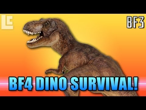 Battlefield 4 Dinosaurs Survival Mode? (Battlefield 3 Gameplay/Commentary)